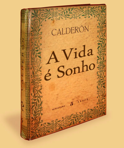 Livro 'A Vida é Sonho', de Pedro Calderón de la Barca