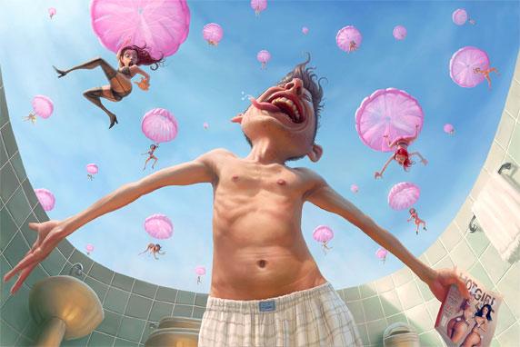 Las fantasías de un adolescente (Autor: Tiago Hoisel)
