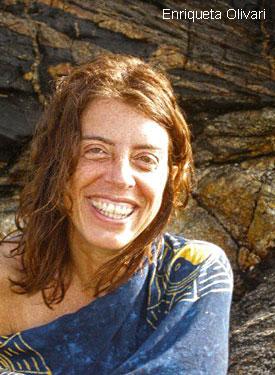 Foto della scrittrice Enriqueta Olivari