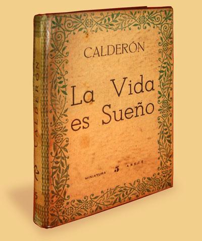 Libro 'La vida es sueño', de Pedro Calderón de la Barca