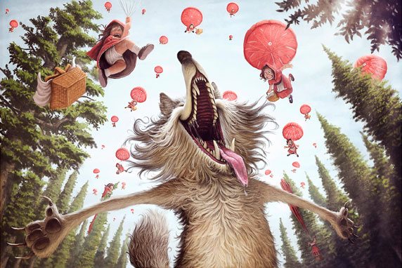 Le fantasie di un lupo (Autore: Tiago Hoisel)