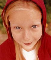 Foto de una niña sonriendo