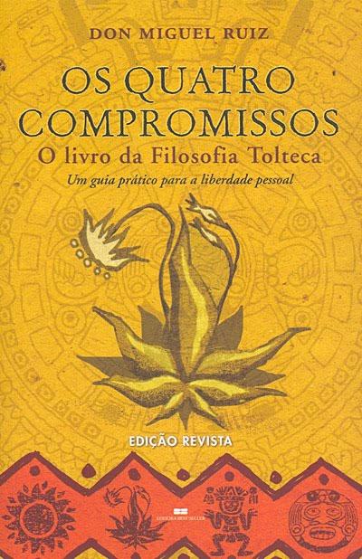 Capa do audiolivro 'Os Quatro Compromissos', do Dr. Miguel Ruiz