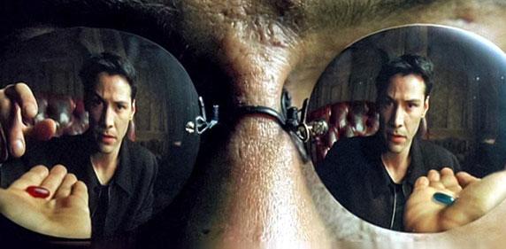 Imagem do filme Matrix
