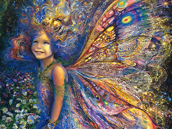 The Forest Fairy (El hada del bosque), de Josephine Wall