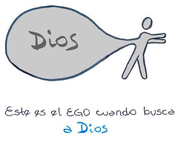 Este es el ego cuando busca a Dios (Ilustración de Axel Piskulic)