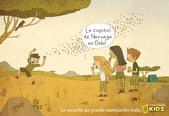 La escuela no puede enseñarles todo a los niños (National Geographic Kids)